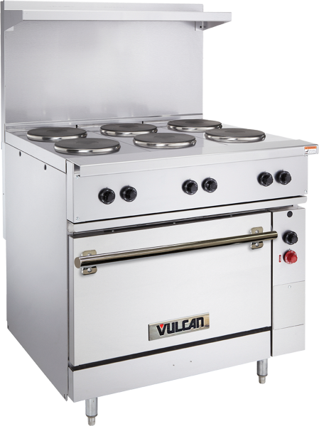 36 Electric Range >> Restaurant Aluminized Steel 36 Electric Range 2 French Plates And 2